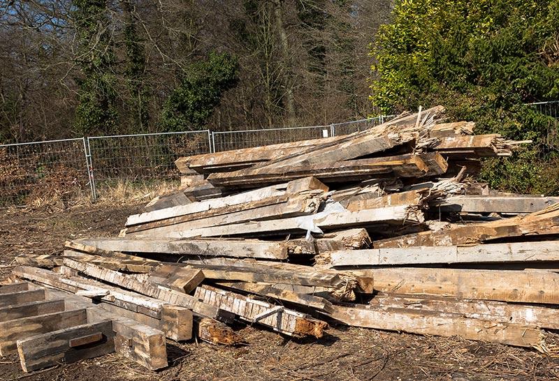 Altholz Entsorgung